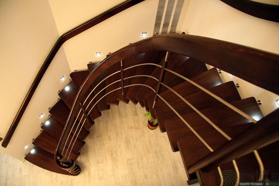 schody gięte lubin